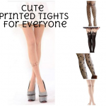 Cute Printed Tights for Everyone