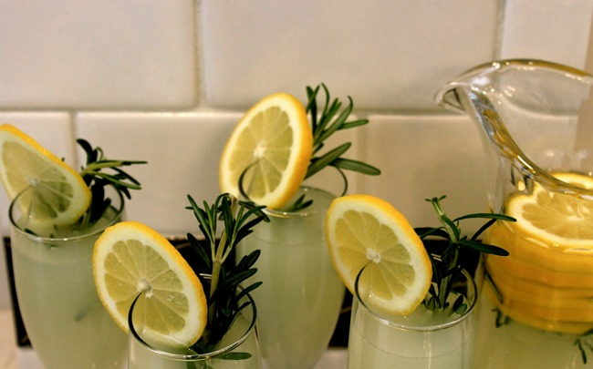 Rosemary Lemon Margarita