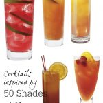 Cocktails Inspired by 50 Shades of Grey