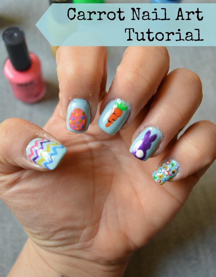 Carrot-nail-art-tutorial