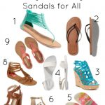Rock these Budget Friendly 2015 Sandals Trends
