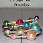 How to Make a Gorgeous Vintage Pearl Wrap Bracelet