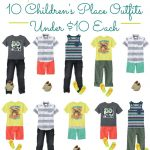 10 Great Summer Outfits for Boys under $10 each!