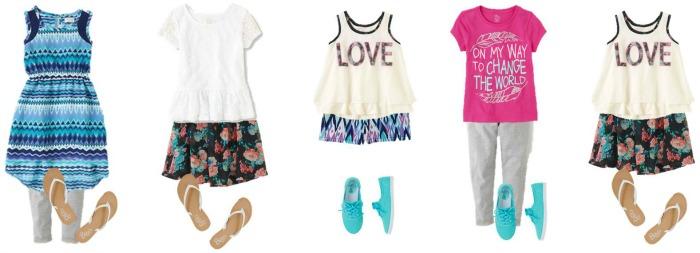 Girls' Summer Fashion TCP 1 700-5