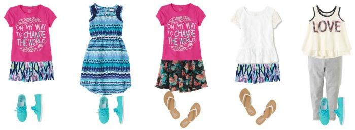 Girls' Summer Fashion TCP 6-10 700