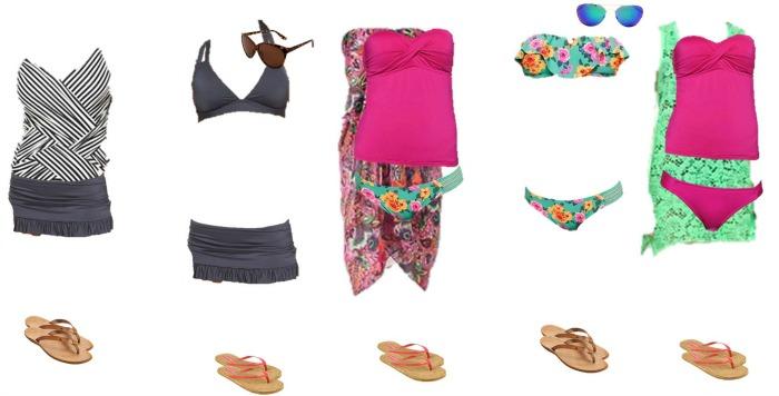 Target Mix and Match Swimwear Fashion Board 3 700