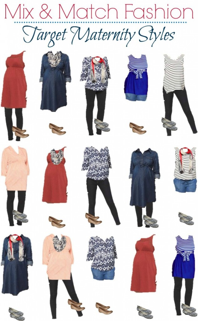Target Maternity Mix and Match Fashion