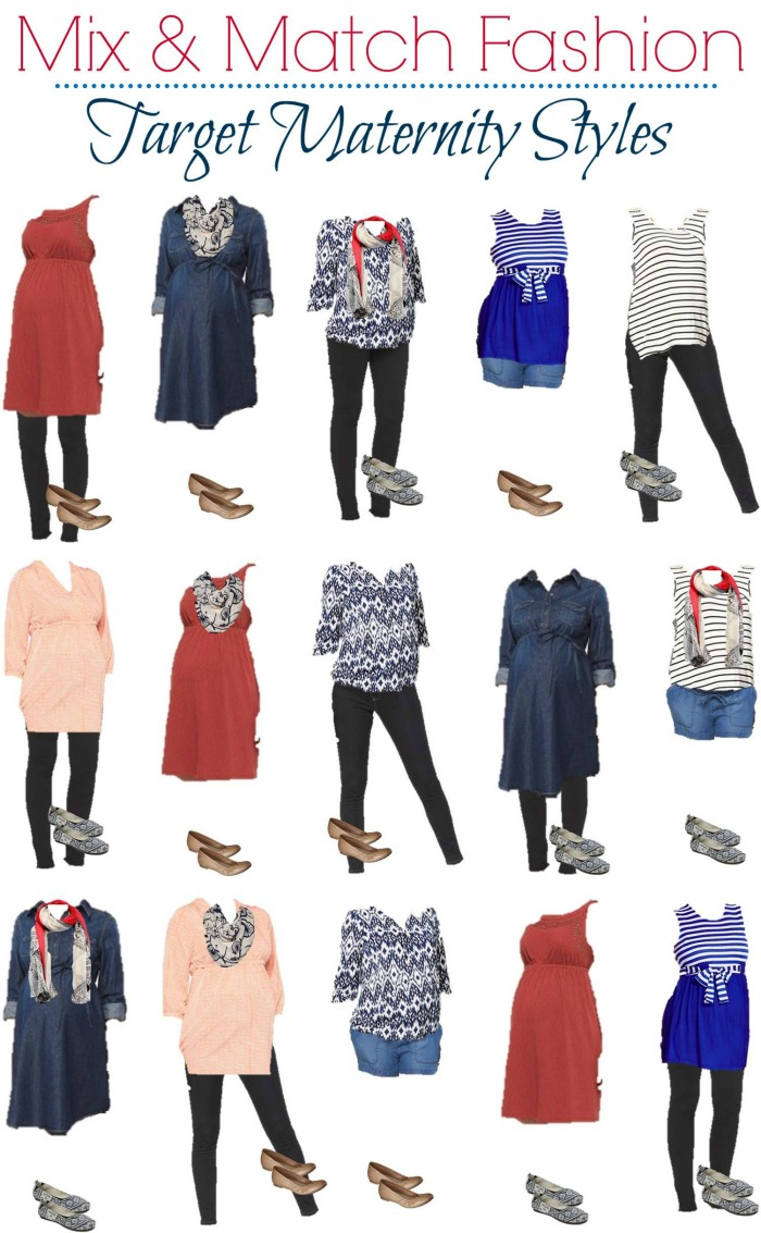 Target Maternity Mix And Match Wardrobe Style On Main