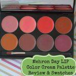 Mehron Day LIP Color Cream Palette Review