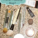 What's in My Travel Makeup Bag | Fayetteville Edition