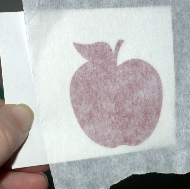 decal on transfer tape