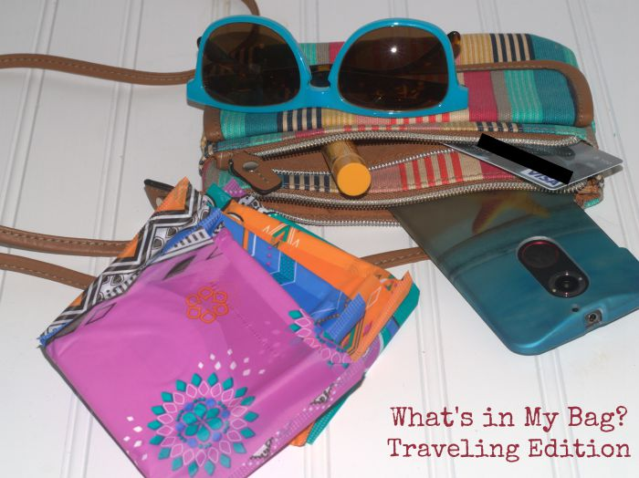 Whats in my Bag Traveling edition