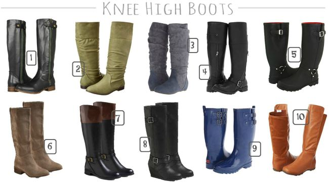 knee high boots for fall