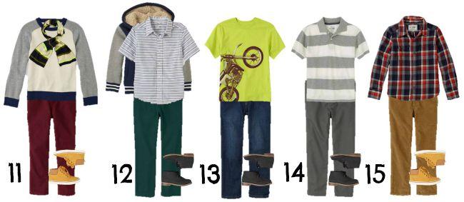 Boys' Fall TCP 11-15