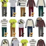 Boys Mix and Match Wardrobe for Fall