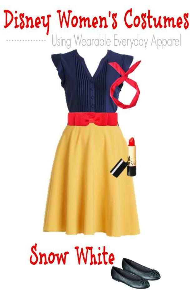 DIY Snow White Halloween Costume