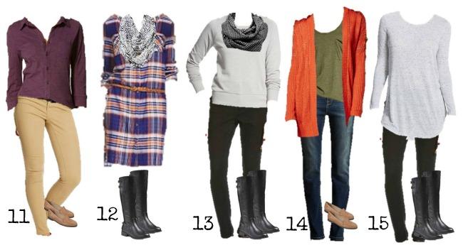 Target Mix & Match fall Fashion 11-15