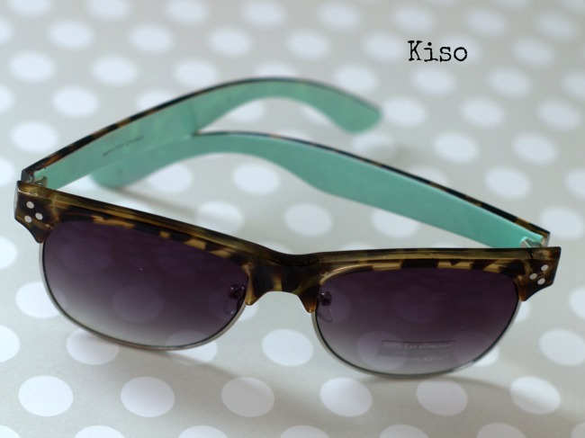 kiso mint sunglasses