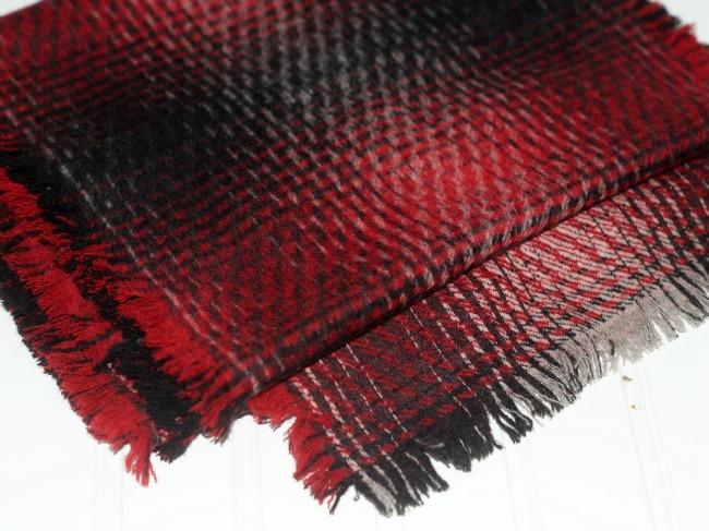 no sew wool scarf 2