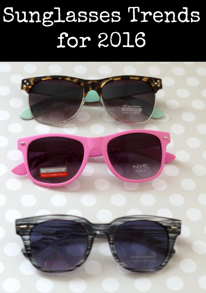 sunglasses trends for 2016