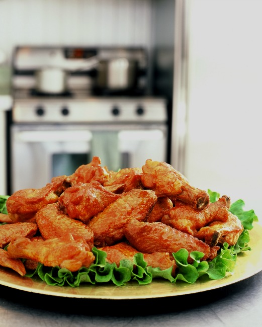 Thai inspired chicken Wings