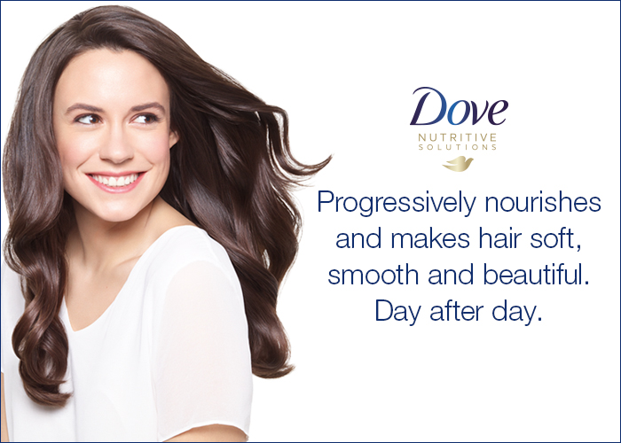 Dove nutritive solutions graphic