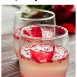 Try this delicious and easy Grown Up Sparkling Raspberry Lemonade cocktail. Perfect for a wedding or brunch!
