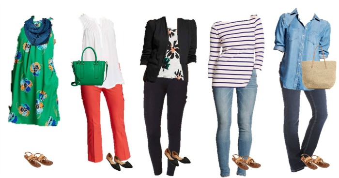 Target Mix and Match Spring Styles