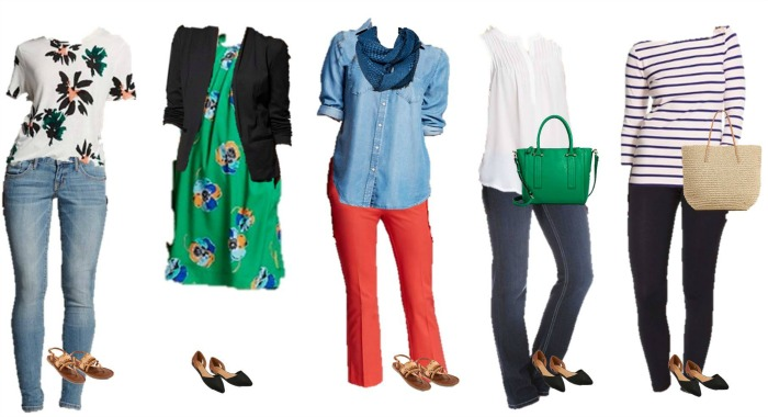 Target Mix and Match Spring fashion 11-15