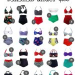 20 Fabulous High Waisted Bikinis for Your Fall Getaway
