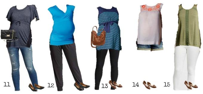 Mix & Match Maternity Fashion from Target 11-15