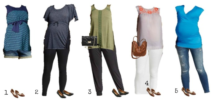 Mix & Match Maternity Wardrobe from Target 1-5
