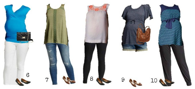 Mix & Match maternity wardrobe from Target 6-10