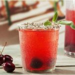 Refreshing Cherry Sage Smash Cocktail Recipe