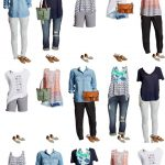 Target Summer into Fall Mix and Match Wardrobe