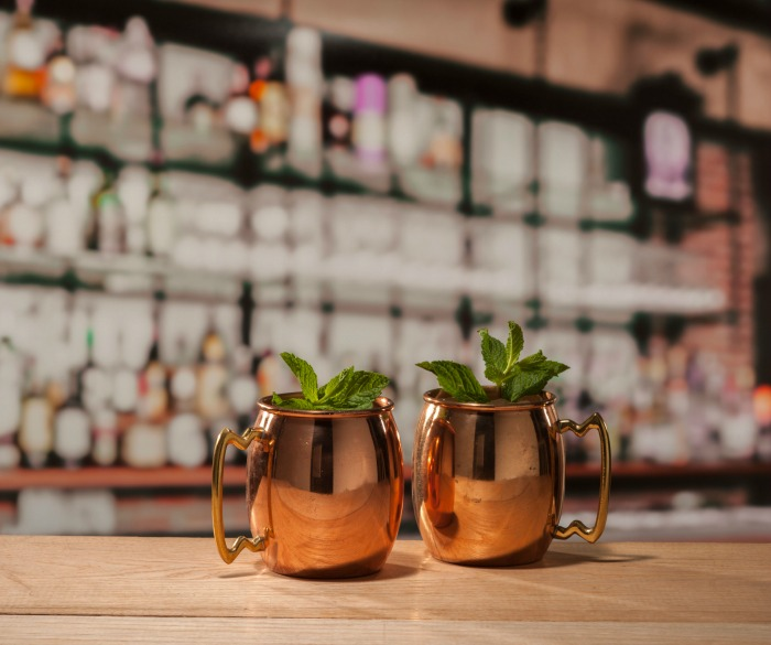 Minted Mule cocktail