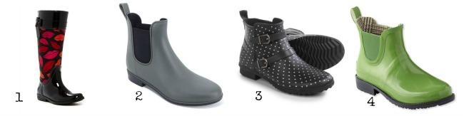 Rain boots under $100