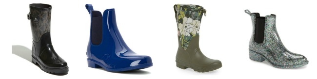 Great designer rain boots under $100