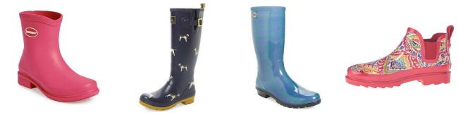 Designer rainboots under $100
