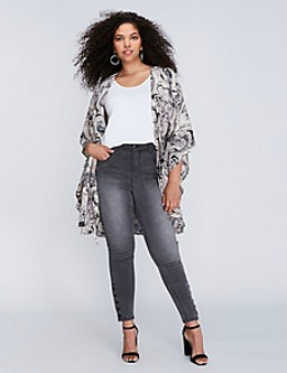 Lane Bryant is a great place to find plus sized jeans
