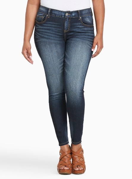 Torrid has great jeans for plussizes