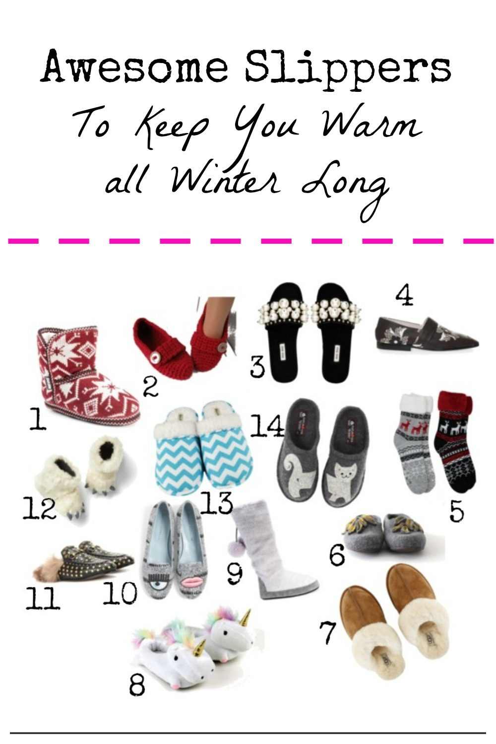 14 great slipper styles that will keep your feet warm
