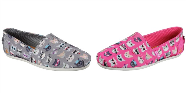 Kitty Smarts shoes by BOBS Skechers