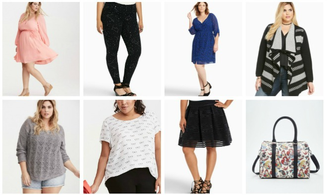 Plus sized fashion favorites from Torrid