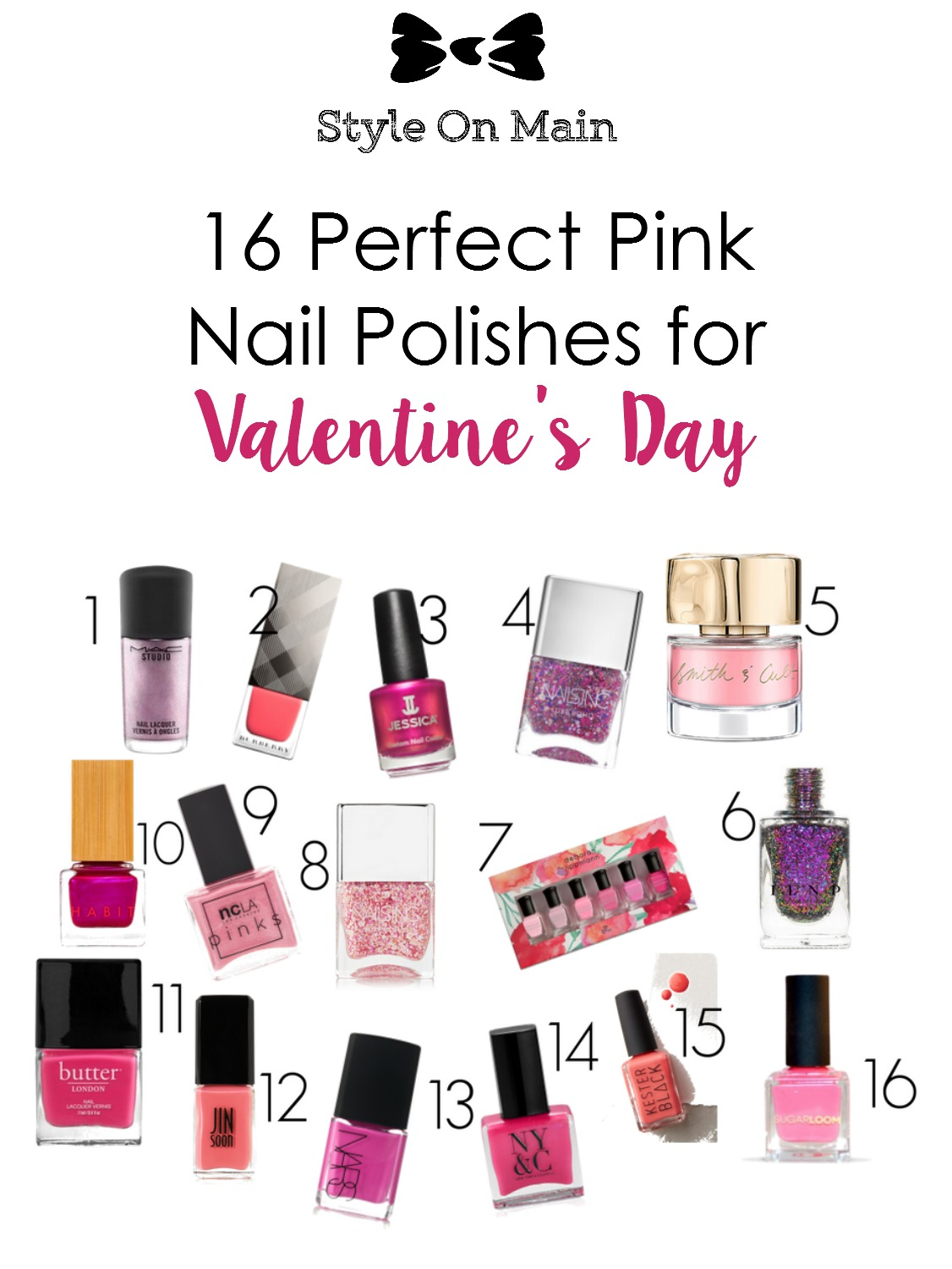 Gorgeous pink nail lacquers for valentine's day and beyond
