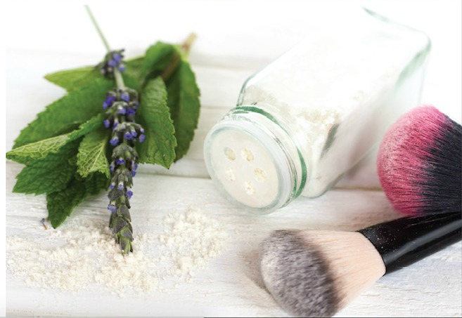 How to make Lavender Mint DIY dry shampoo at home.