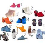 14 Designer High End Mules that We're Lusting After for Spring