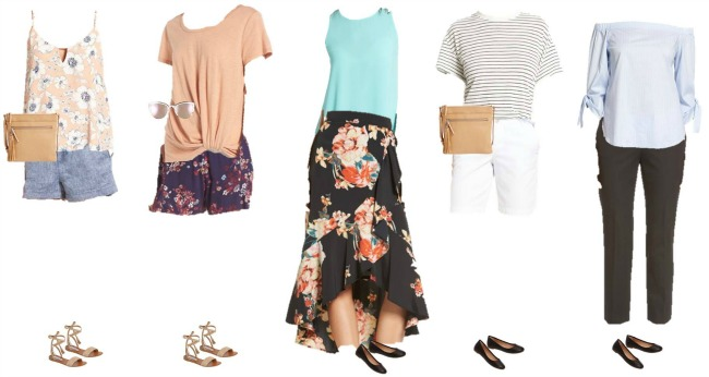 Nordstrom Summer capsule Wardrobe Collection