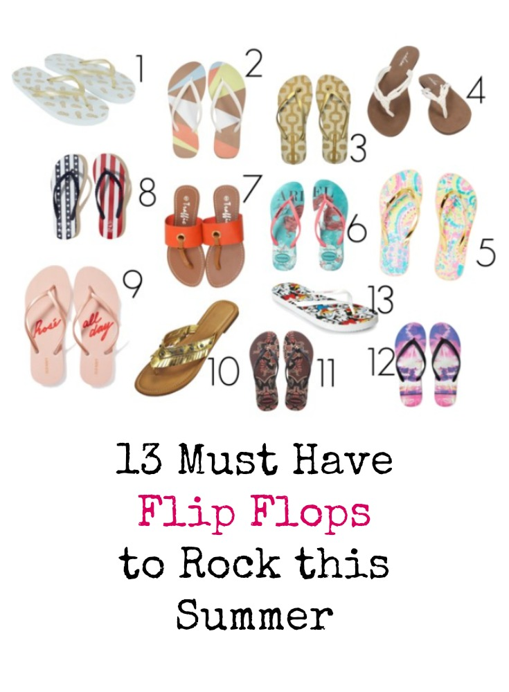 13 Must have flip flops that are the perfect shoes for summer