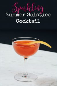 How to make a cognac based mixed drink. This cocktail recipe is perfect for summer or weddings.